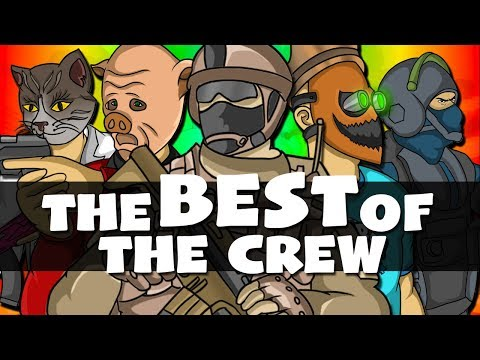 """IM SO HIGH!!"" - The BEST of The Crew! - Funny Moments Gaming Montage! (Part 6)"