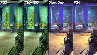 Call Of Duty Black Ops 3 PS4 Vs PS3 Vs Xbox One Vs Xbox 360 Graphics Comparison
