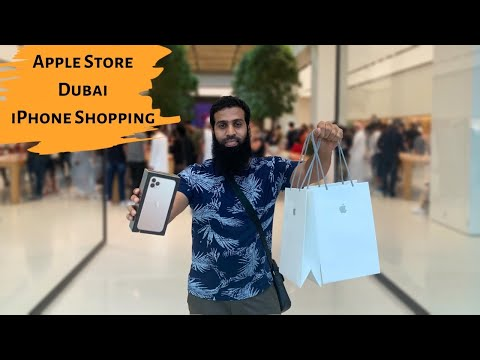 Apple Store Dubai iPhone shopping experience
