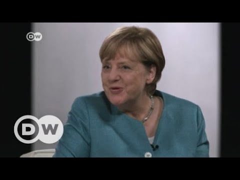 Thumbnail: Merkel answers YouTubers' questions | DW English