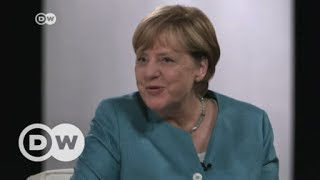 Merkel answers YouTubers' questions | DW English