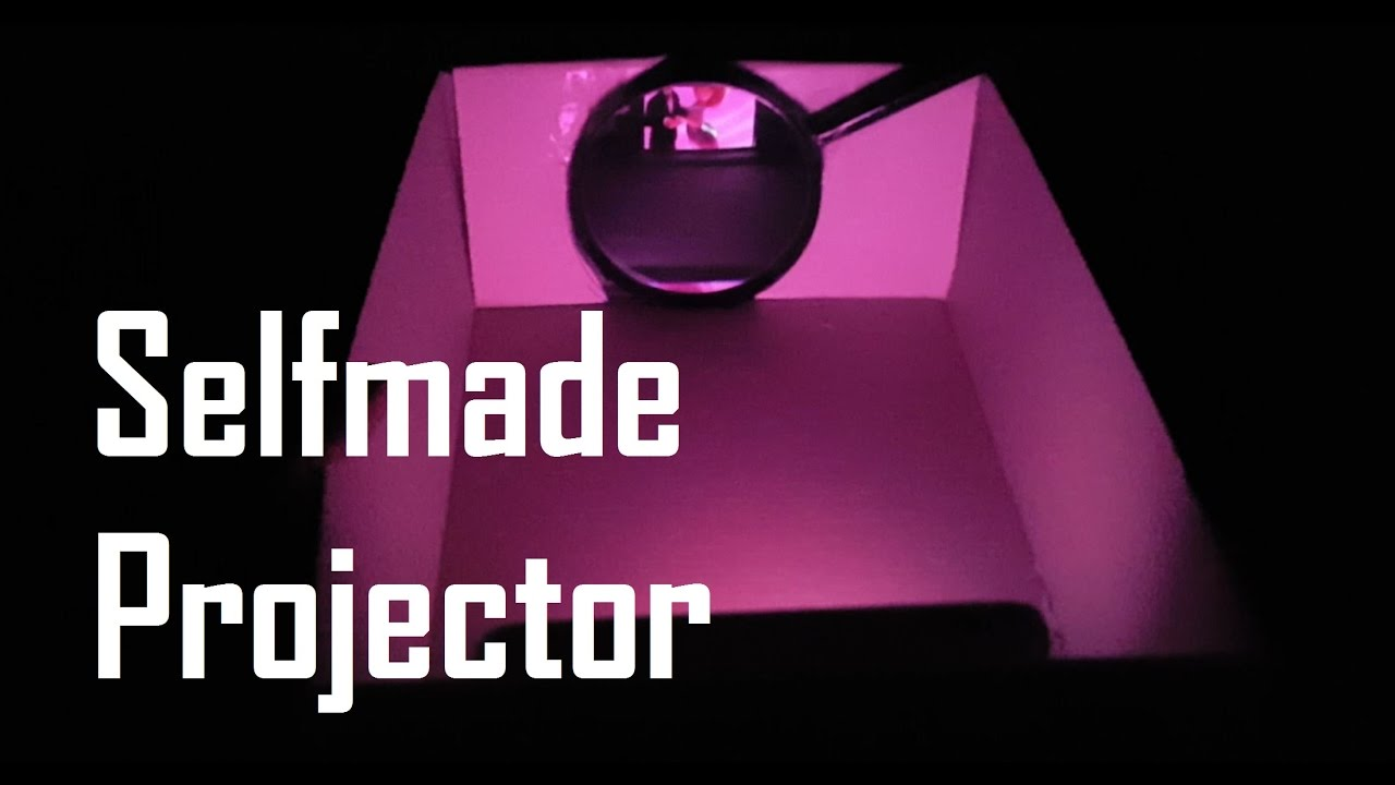 Turbo Smartphone Beamer selber bauen - selfmade projector - YouTube UM94
