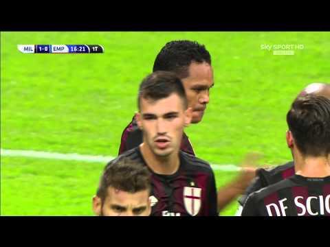 [SKY SPORT ITA HD] 1°gol in campionato di Carlos Bacca (Milan 2 Empoli 1)