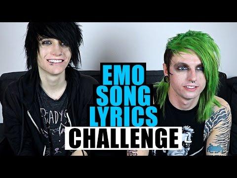 Emo Song Lyrics Challenge Feat. Johnnie Guilbert