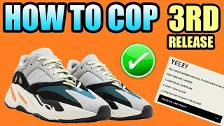 How To Get The YEEZY 700 WAVE RUNNER !   New Adidas SMS VERIFICATION System