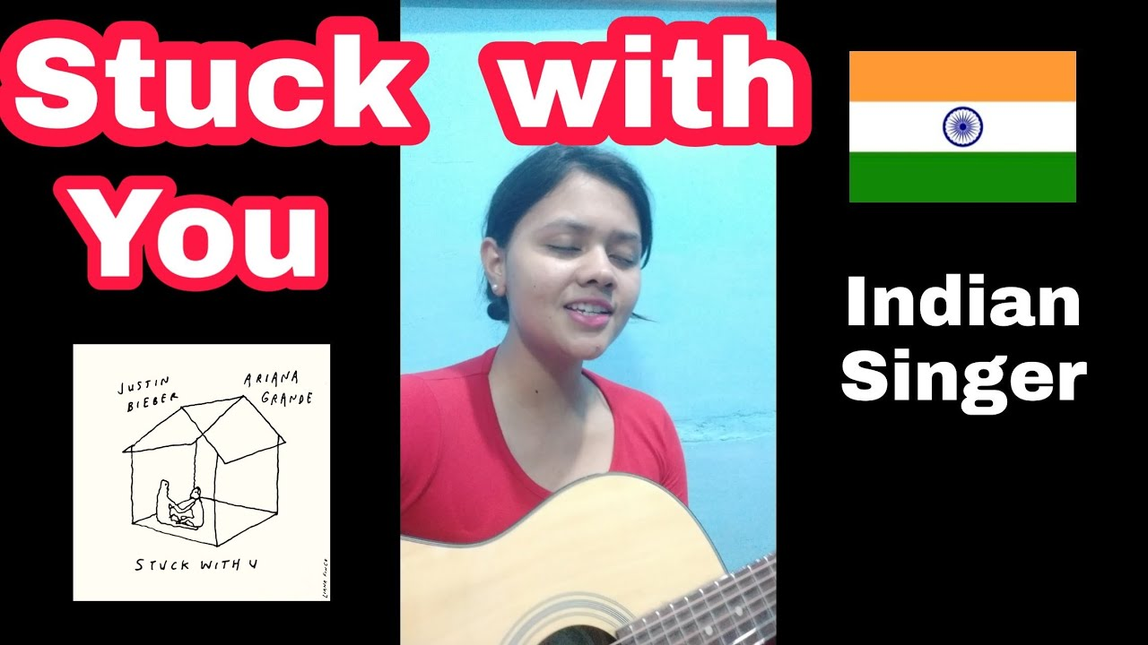 Stuck with you ACOUSTIC COVER | Justin Bieber | Ariana Grande | Female cover by Indian singer