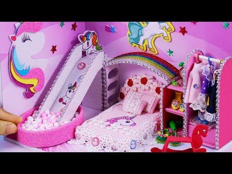 DIY Miniature Dollhouse ~ Unicorn Room Decor , Shoes #41
