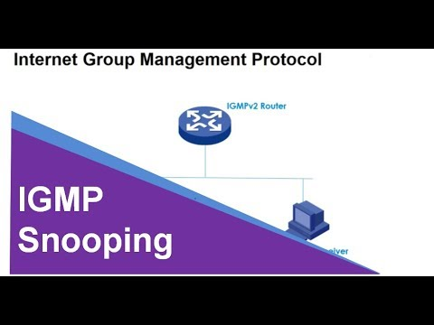 Vídeo: IGMP Snooping –