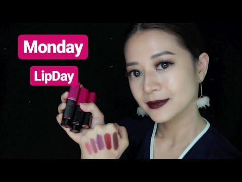 loreal-rouge-magique-matte-lipstick-review-||-monday-lipday