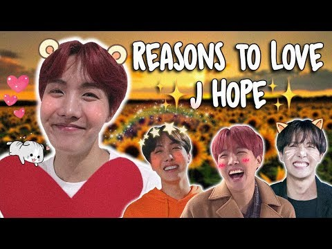 Reasons to Love BTS: J Hope Version