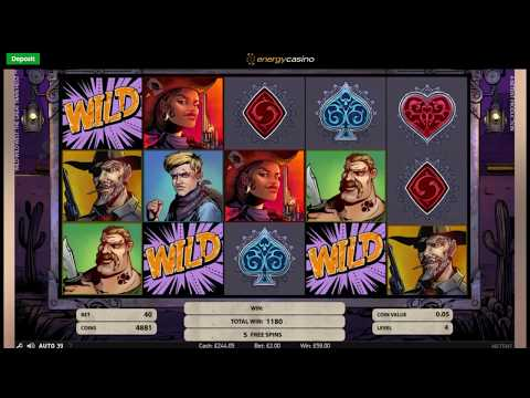 Sunday Slots with The Bandit - Wild Wild West, Theme Park and More