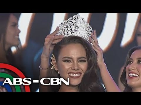 UKG: Catriona Gray, bagong Miss Universe-Philippines