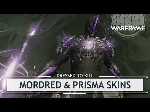 Warframe Mordred Helmet Prisma Skin Bundle Dressedtokill