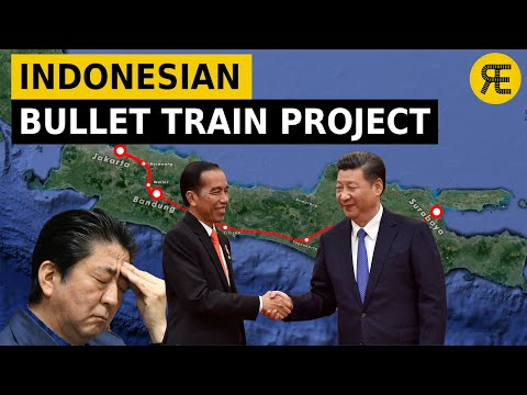Indonesia's High-Speed Rail Project: Messed Up Diplomatic Triangle
