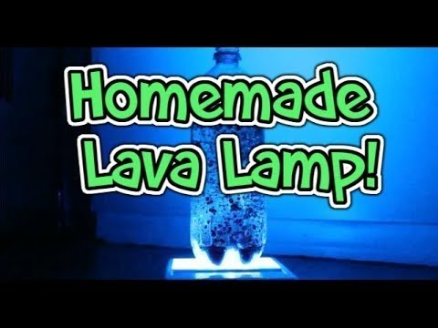 ⬤ Cool Science Experiments To Do At Home: Make A Homemade Lava Lamp ⬤    YouTube