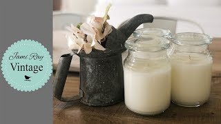How to make scented candles at home?