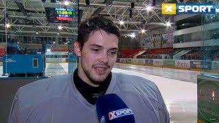 Богдан Дьяченко - о работе на сборе молодежной сборной Украины по хоккею