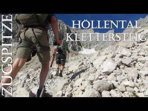 Outdoor Tour 2015 Höllental Klettersteig Zugspitze
