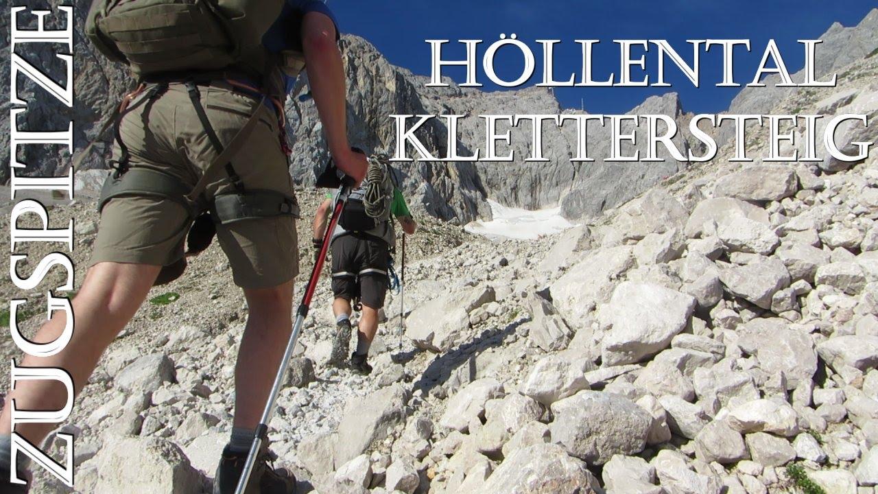 Klettersteig Höllental : Höllental klettersteig zugspitze outdoor tour youtube