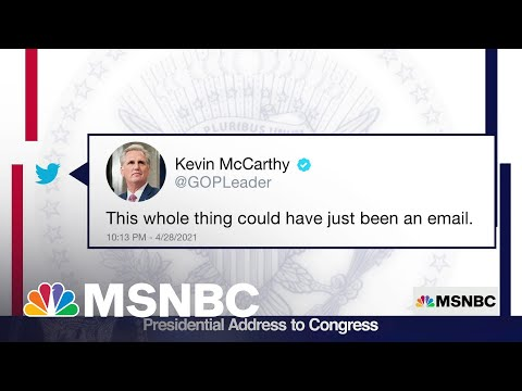Rep. McCarthy On Biden Speech: This Could've Been An Email | MSNBC