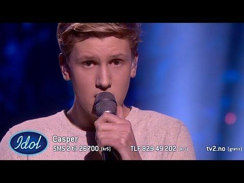 Casper rører dommerne til tårer med sin sang dedikert til bestemoren   Idol Norge 2018