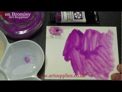 Daniel Smith Extra Fine Watercolour Cobalt Violet 030 Series 3