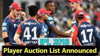 IPL 2018: Player Auction List Announced | Sports Tak