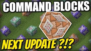 Minecraft PS4 -  COMMAND BLOCKS - NEXT UPDATE ?! Tutorial - Xbox / PS3 / Wii U