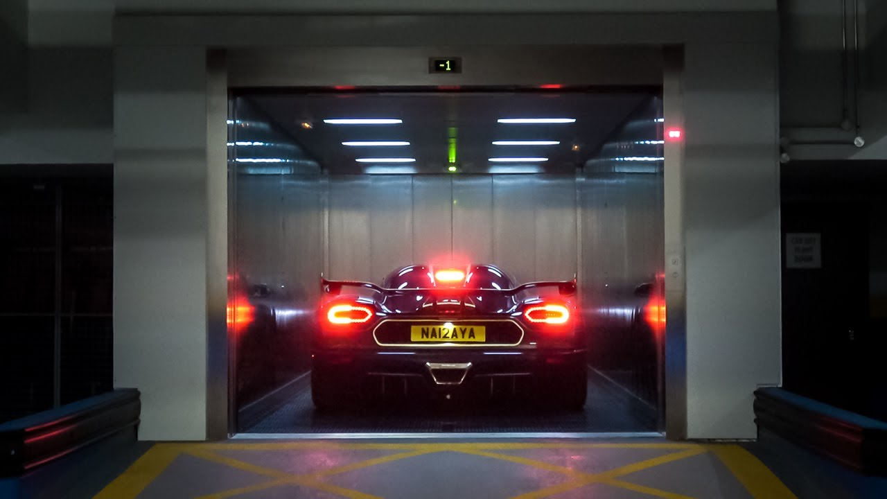 Swapping the Zonda for the Koenigsegg