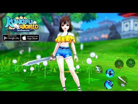 [Android/IOS] Kungfu World (THAI) - MMORPG Gameplay