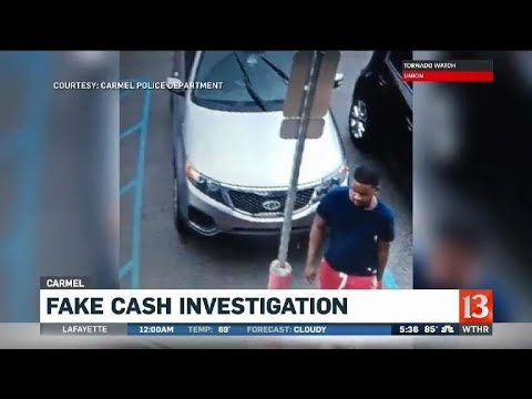 Fake currency investigation