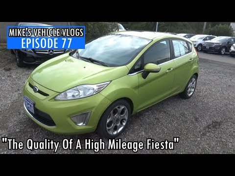 """VEHICLE VLOG 77 - """"The Quality Of A High Mileage Fiesta"""""""