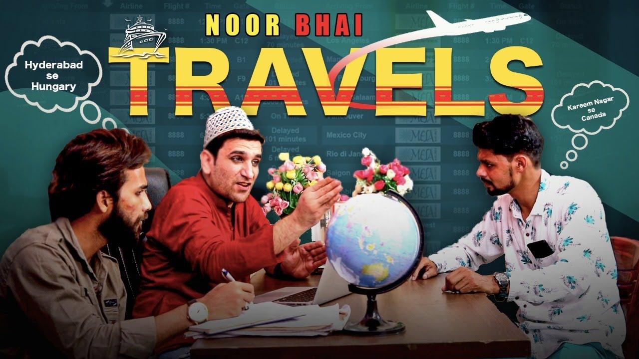 Noor Bhai Travels Wale || Karimnagar to Canada