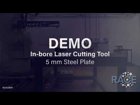 In-bore Laser Cutting Tool for DEMO fusion power plant project