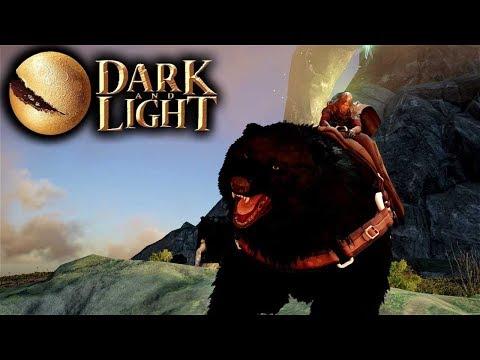 Dark and Light - Bear Taming! (Double Wild Bear Taming Adventure) (Dark and Light Gameplay Part 14)