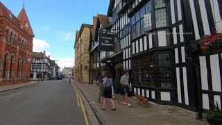 Stratford upon Avon Town Centre in Warwickshire England