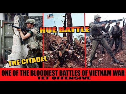BLOODY BATTLE OF HUE - The Most Bloodiest of Vietnam War. The Citadel, Tet Offensive |