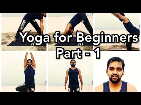 Yoga for beginners - Part 1   Tamil   Senthilnathan