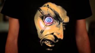 Frantic Moving Eyeball Shirt- Digital Dudz 2013