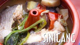 Sinigang na Isda - Fish Sinigang soup