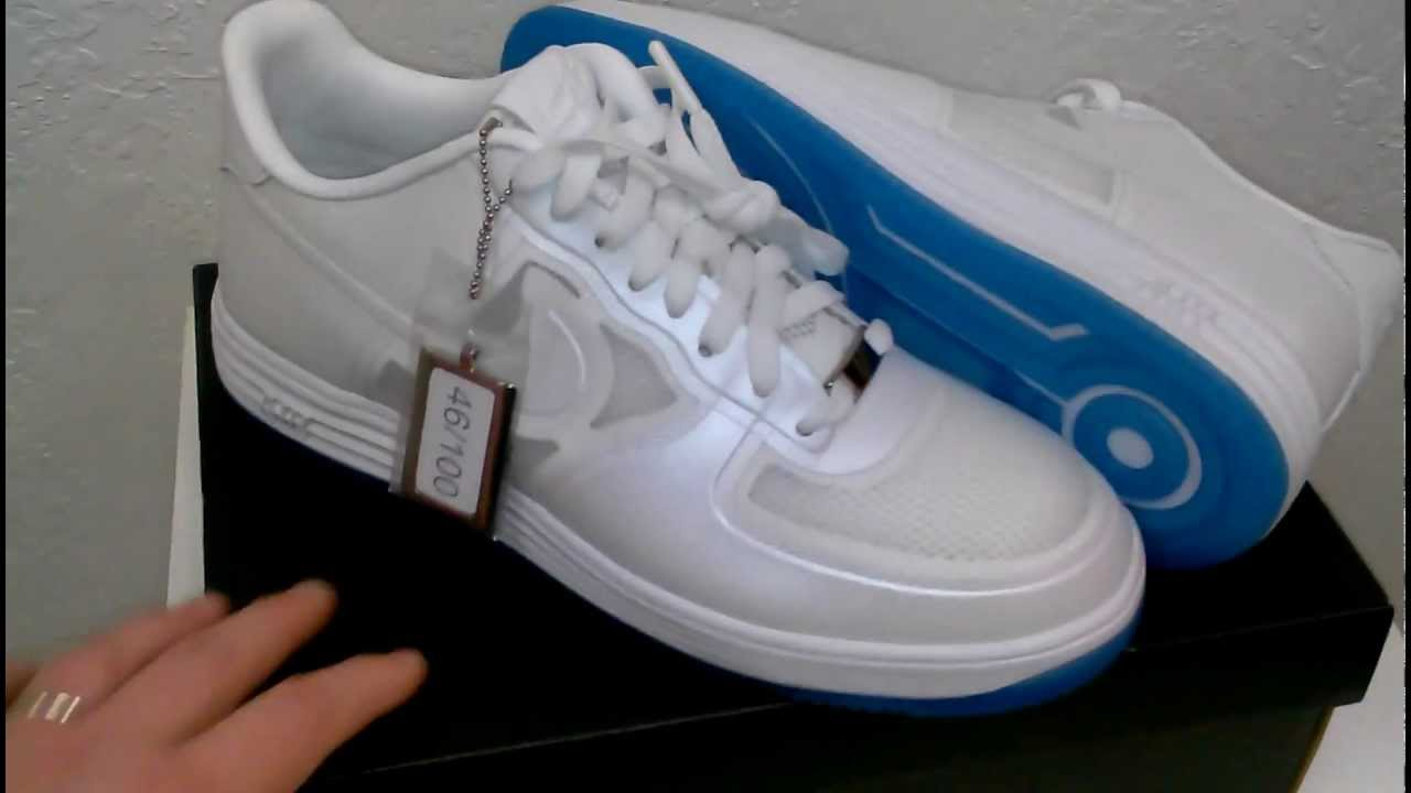 NIKE *EASTERS* LUNAR FORCE 1 FUSE QS WHITEWHITE * BLUE