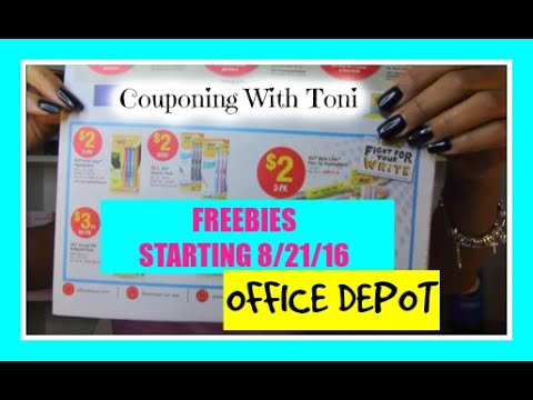 What a great list of FREE After Rebate Stuff from Office Depot! Is your New Year's Resolution to get organized? If so, you will want to take advantage of some of these FREE offers.
