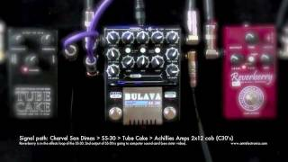 Video AMT SS-30, Reverberry to Tube Cake 3W pwr. amp and Achilies Amps 2x12 cab. download MP3, 3GP, MP4, WEBM, AVI, FLV Agustus 2018