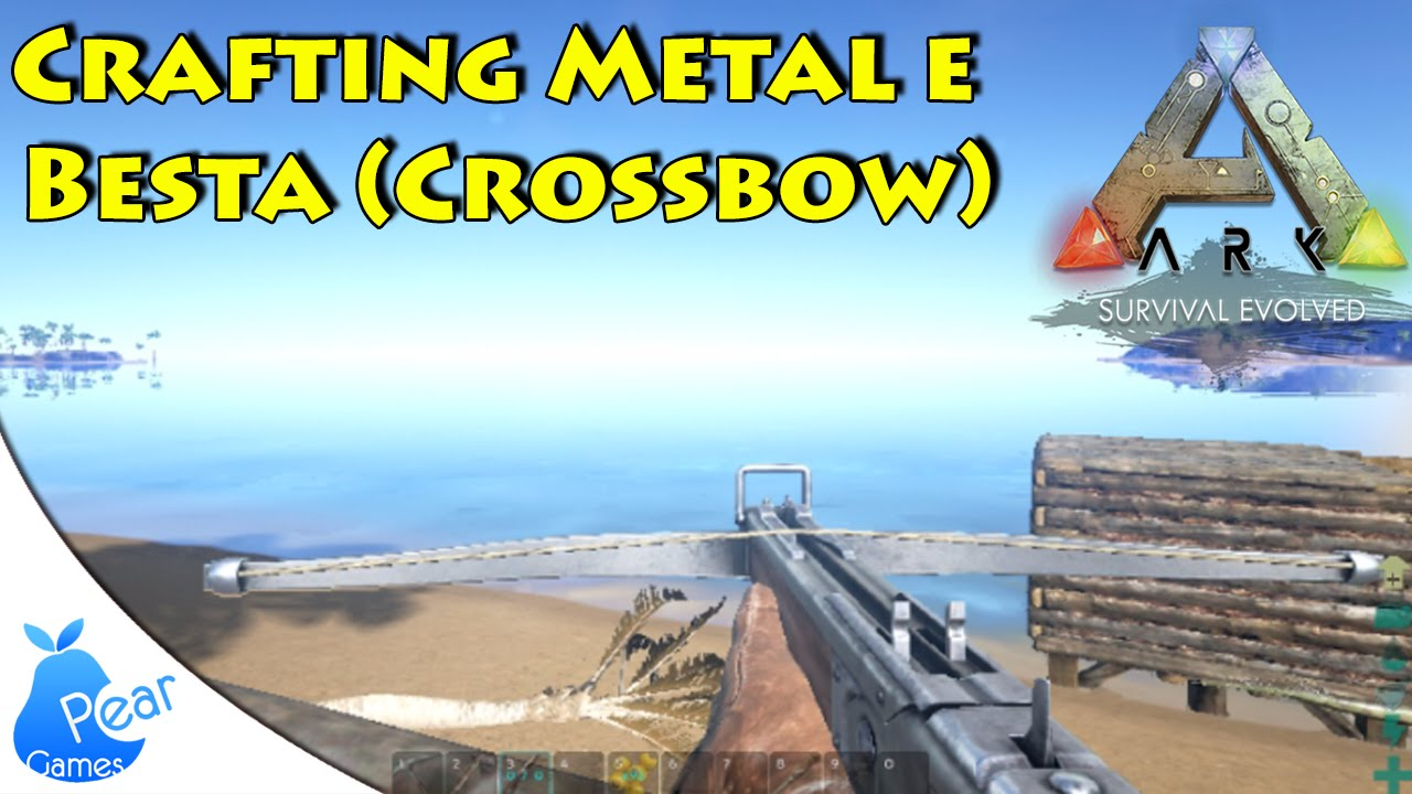 how to build a crossbow in ark