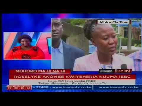 Inooro Rucini: Roselyn Akombe Kwiyeheria Kuuma IEBC[PART 1]