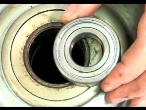 comment changer les roulements d une machine a laver