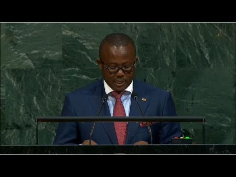 Guinea-Bissau - Prime Minister Addresses the 72nd Session of the United Nations General Assembly