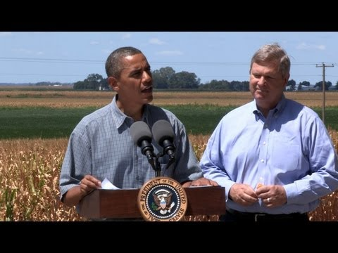 President Obama In Iowa On USDA Purchases To Help Farmers