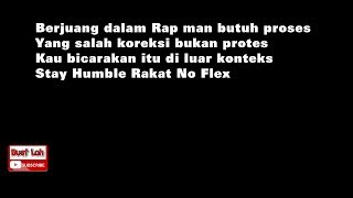 Gambar cover (Lyric Video) IAm Rapholic & Dflow (MukaRakat) - BINASA (Diss Back)