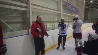 Тренировка хоккеистов любителей